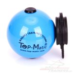 Weicher Ball mit MULTI Power-Clip von Top-Matic Trainingssystemen, Blau