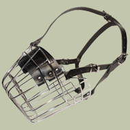 Wire Dog Muzzle for Newfoundland Dog Breed