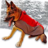 Hundemantel aus Nylon Deutscher Schäferhund❊