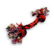 Baumwolle Kauspielzeug Knoten-Knochen für Hunde