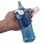 Plastik Hundeflasche für Wasser