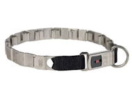 "Neck TECH FUN STAINLESS STEEL collar 19"" ClickLock System"