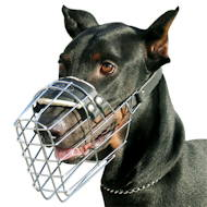 New wire dog muzzle perfect for Doberman