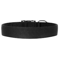 Extra Wide Dog Collar of Nylon