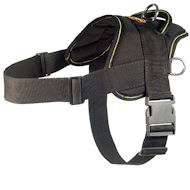 Nylon multi-purpose dog K9 harness for tracking/pulling
