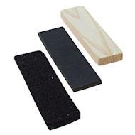 Fährtengegenstände aus Dickes Leder, Filz und Holz