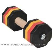 Holz-Gewichte mit abnehmbaren Polymerscheiben