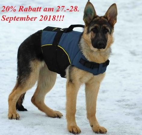 Warme Hundebekleidung