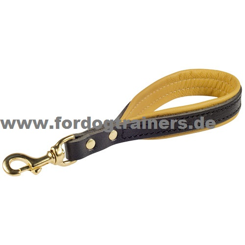 Leather leash for training