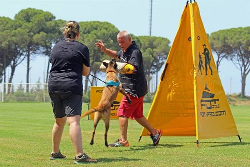 Dienstversteck für Hundesport