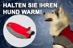 Hundemantel aus Fleece