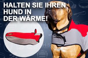 Nylon Hundemantel für Schnee und Regen