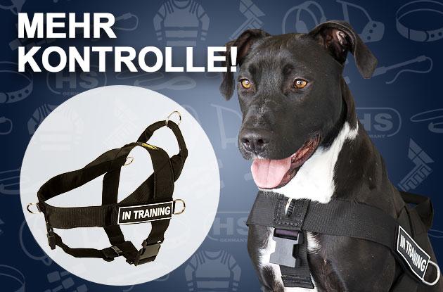Hundegeschirr aus Nylon mit Logos